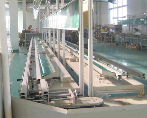 焊机PCB板环型插件线