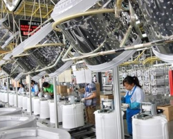 洗衣机组装生产线