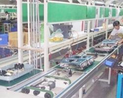 平面循环炉具组装线